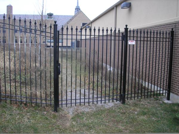 7ft Wrought Iron Gate