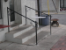 Square Steel Handrail with C-Scrolls
